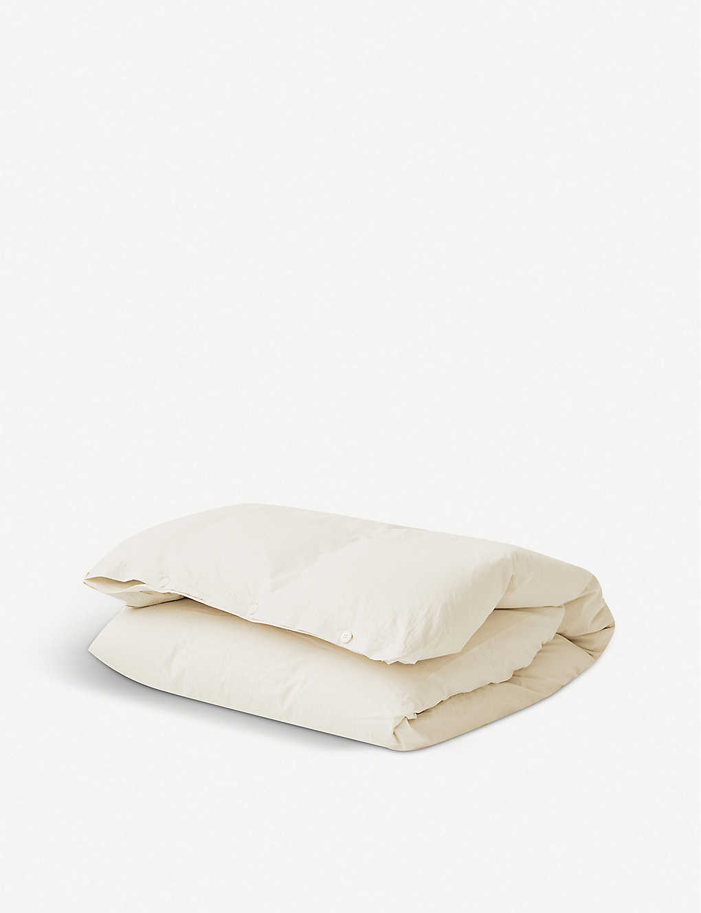 TEKLA: Single organic cotton duvet cover 200cm x 140cm
