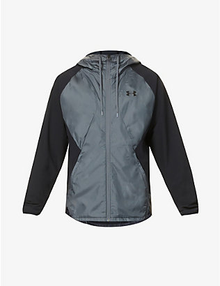 UNDER ARMOUR: Colour block shell jacket