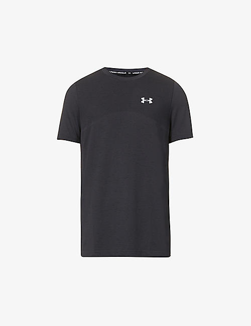 UNDER ARMOUR: Seamless stretch-jersey T-shirt
