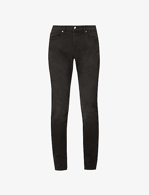 FRAME: L'homme Athletic slim-fit stretch-denim jeans