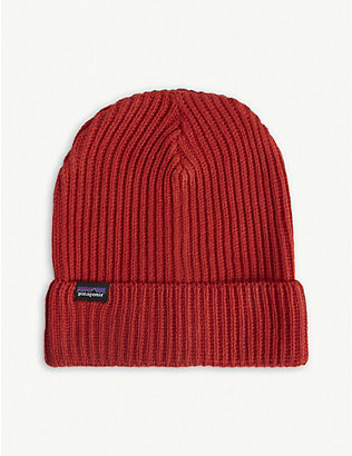 PATAGONIA: Fisherman's rolled recycled-knit beanie