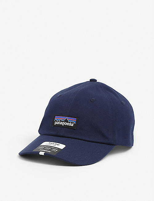 PATAGONIA: P-6 Label Trad logo-patch organic-cotton and NetPlus ™ baseball cap