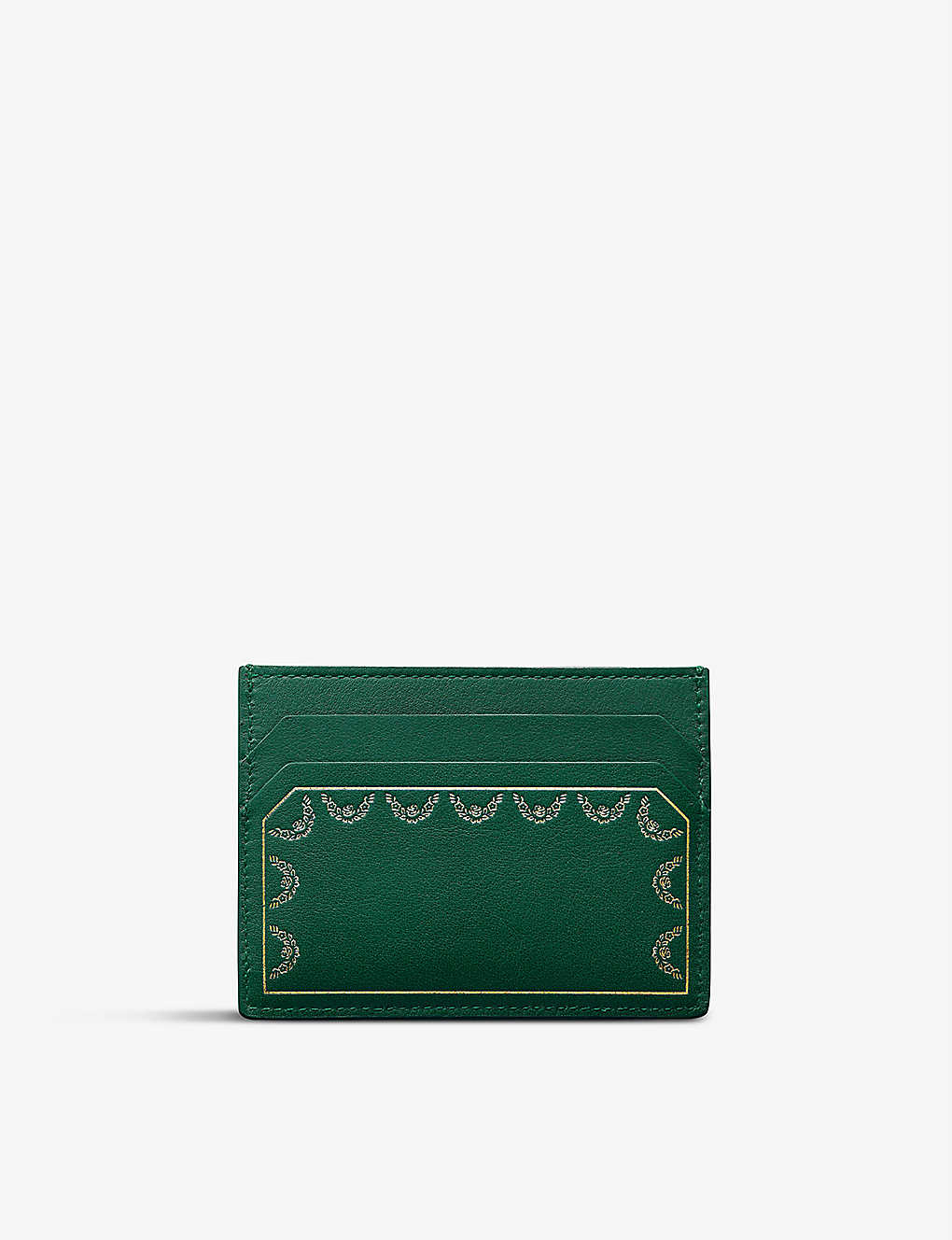 CARTIER: Guirlande de Cartier leather cardholder