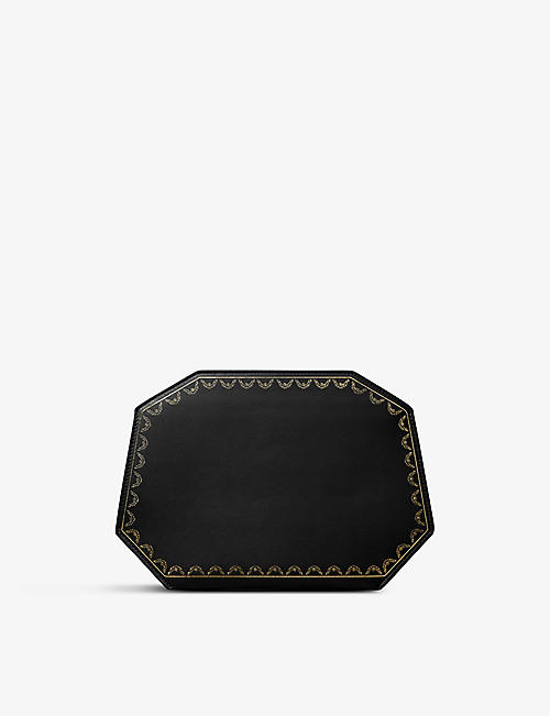 CARTIER: Guirlande de Cartier small leather clutch bag