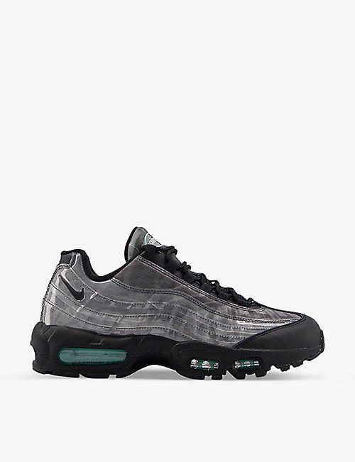 NIKE: Air Max 95 textile trainers
