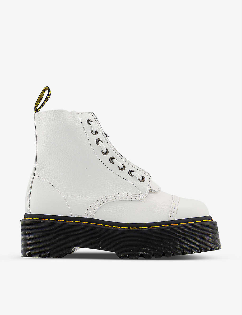 DR. MARTENS: Sinclair leather ankle boots