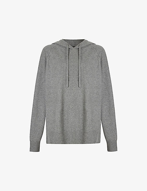 ALLSAINTS: Olly recycled cashmere-blend hoody