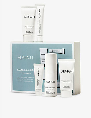 ALPHA-H: Clear Skin Starter Kit with salicylic acid