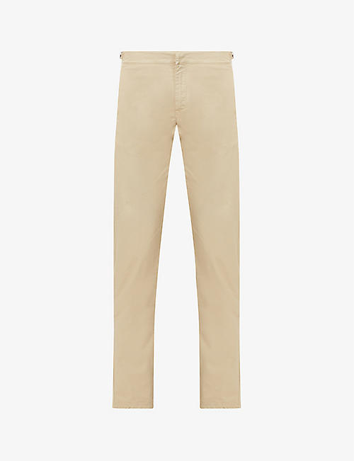 ORLEBAR BROWN: Campbell straight stretch-cotton trousers