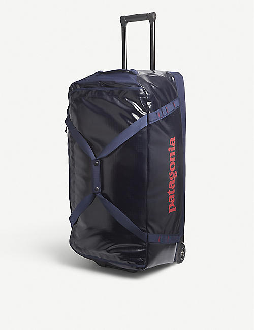 PATAGONIA: Black Hole recycled nylon duffle bag 100L