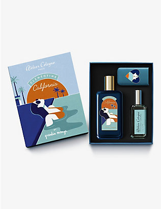 ATELIER COLOGNE: Clémentine California cologne absolue gift set
