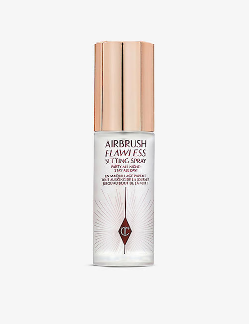 CHARLOTTE TILBURY: Airbrush Flawless travel setting spray 34ml