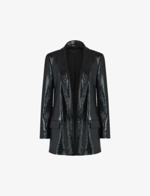 ALLSAINTS: Leanna sequinned blazer