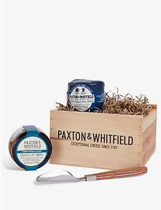 PAXTON & WHITFIELD: Stilton & Scoop small gift set