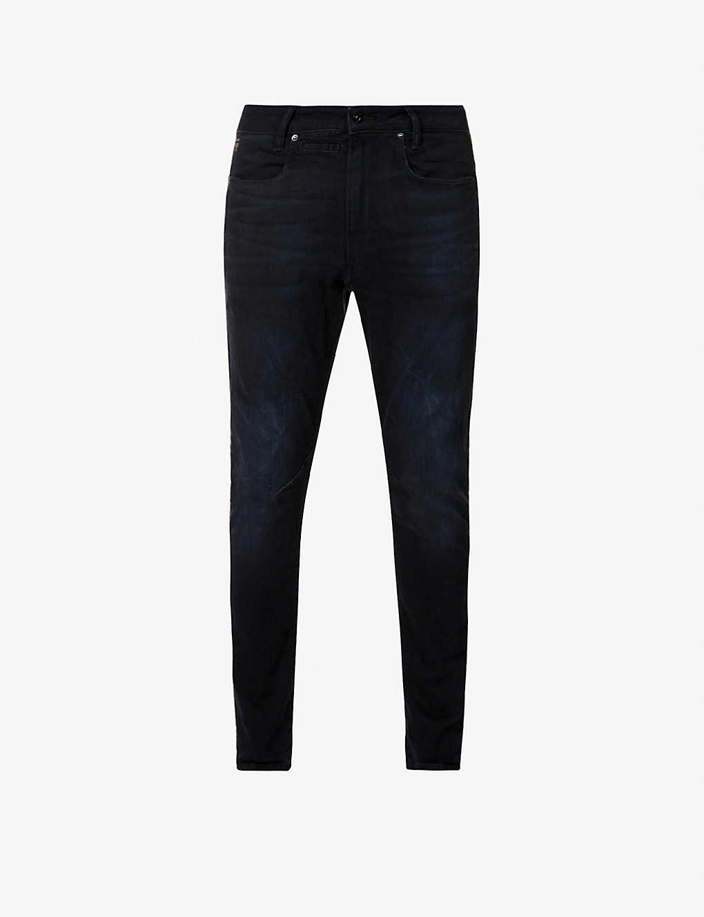G-STAR: D-staq 3D slim-fit stretch-denim jeans