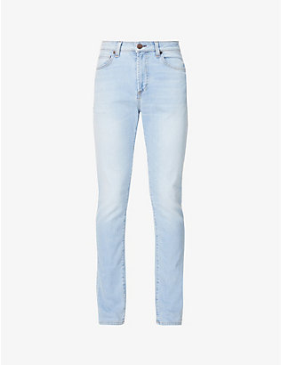 MONFRERE: Brando slim-fit stretch-denim jeans