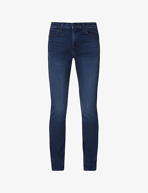 MONFRERE: Deniro straight stretch-denim jeans