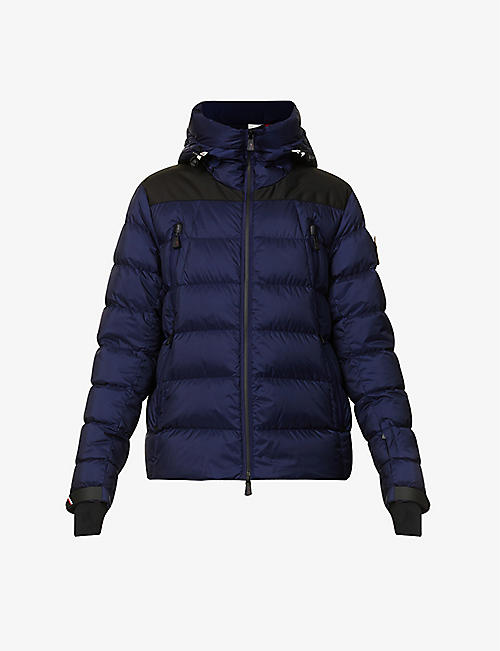 MONCLER GRENOBLE: Camurac hooded shell-down jacket