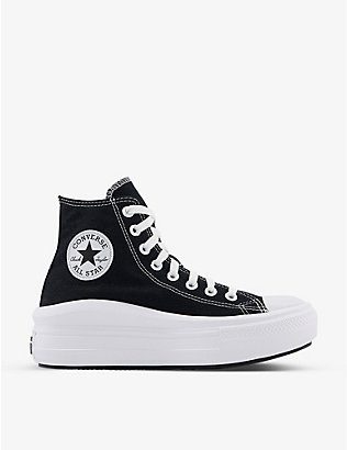 CONVERSE: All Star Move canvas trainers