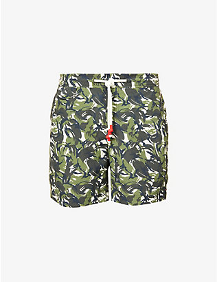 ORLEBAR BROWN: Standard regular-fit camo swim shorts
