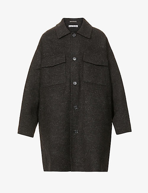 ACNE STUDIOS: Damman wool coat
