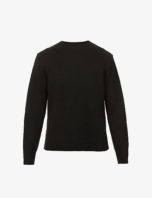 ACNE STUDIOS: Peele wool and cashmere-blend jumper