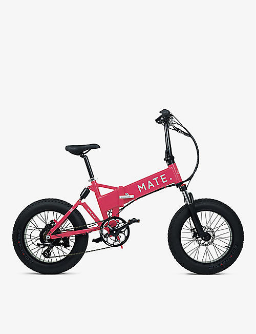 SMARTECH: MATE X foldable electric bike