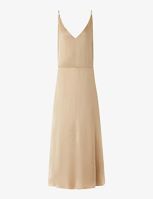 JOSEPH: Delphia silk midi dress