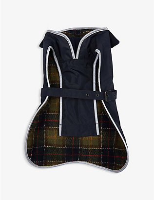 BARBOUR: Waterproof fleece-lined dog coat