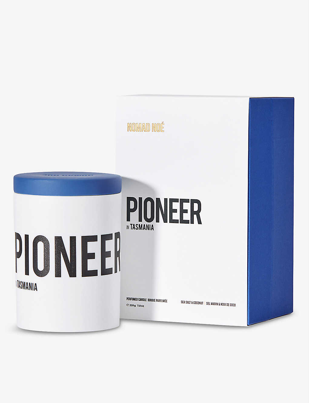 NOMAD NOE: Pioneer in Tasmania scented candle 220g