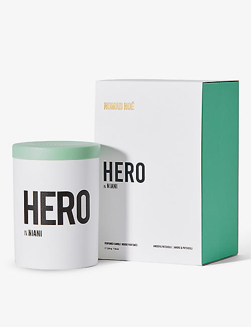 NOMAD NOE: Hero In Niani scented candle 220g