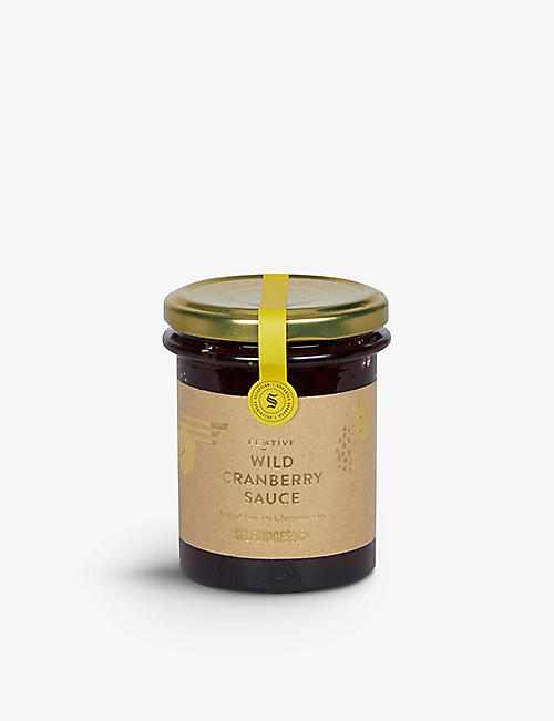 SELFRIDGES SELECTION: Wild Cranberry Sauce with port 210g