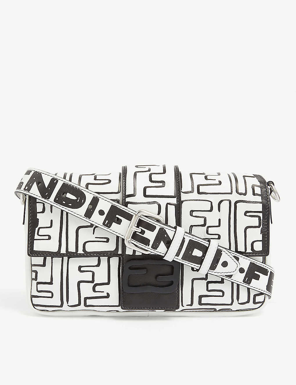 FENDI: Fendi X Joshua Vides leather cross-body bag