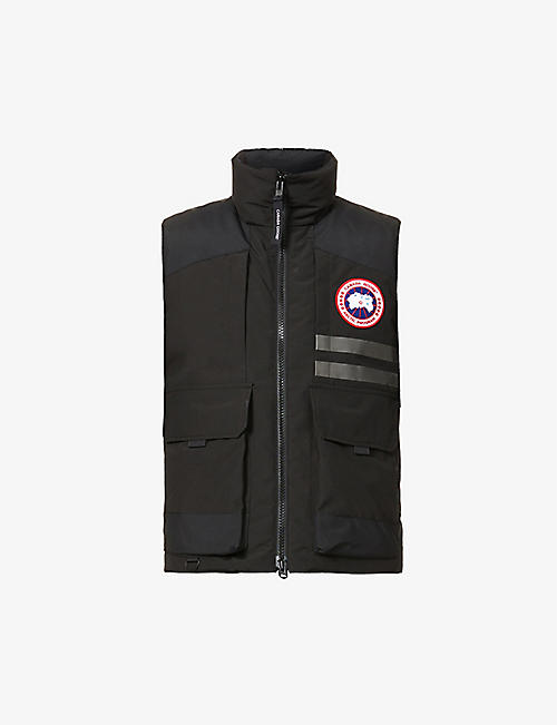 CANADA GOOSE: Duncan padded shell-down gilet
