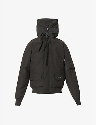 CANADA GOOSE: Chilliwack hooded shell-down jacket