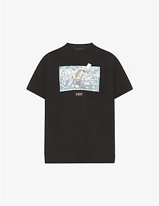 THROWBACK: Michael Jordan graphic-print cotton-jersey T-shirt