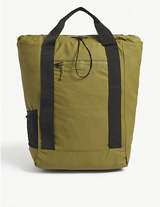 RAINS: Ultralight nylon tote bag
