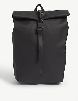 RAINS: Mini nylon backpack