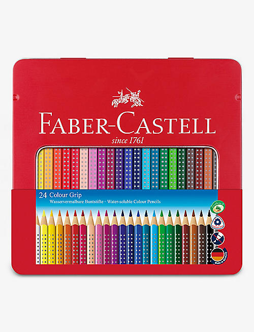 FABER CASTELL: Colour Grip pencils set of 24