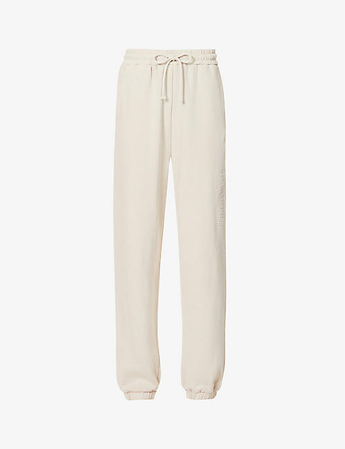 CAMILLA AND MARC: Josef relaxed high-rise cotton-jersey jogging bottoms