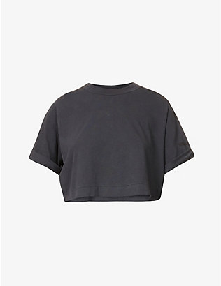CAMILLA AND MARC: Acadia crop cotton-jersey T-shirt
