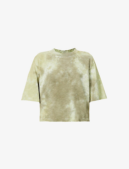 COTTON CITIZEN: The Tokyo tie-dye cotton-jersey T-shirt