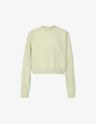 COTTON CITIZEN: The Milan cotton-jersey sweatshirt