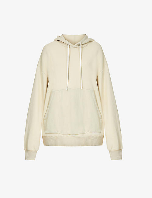 COTTON CITIZEN: The Brooklyn oversized cotton-jersey hoody