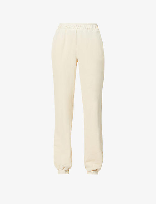 COTTON CITIZEN: The Brooklyn high-rise cotton-jersey jogging bottoms