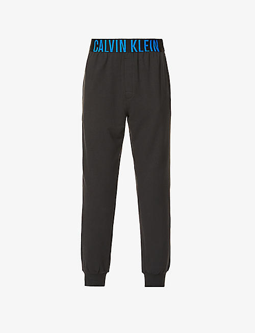 CALVIN KLEIN: Intense Power cotton-jersey jogging bottoms