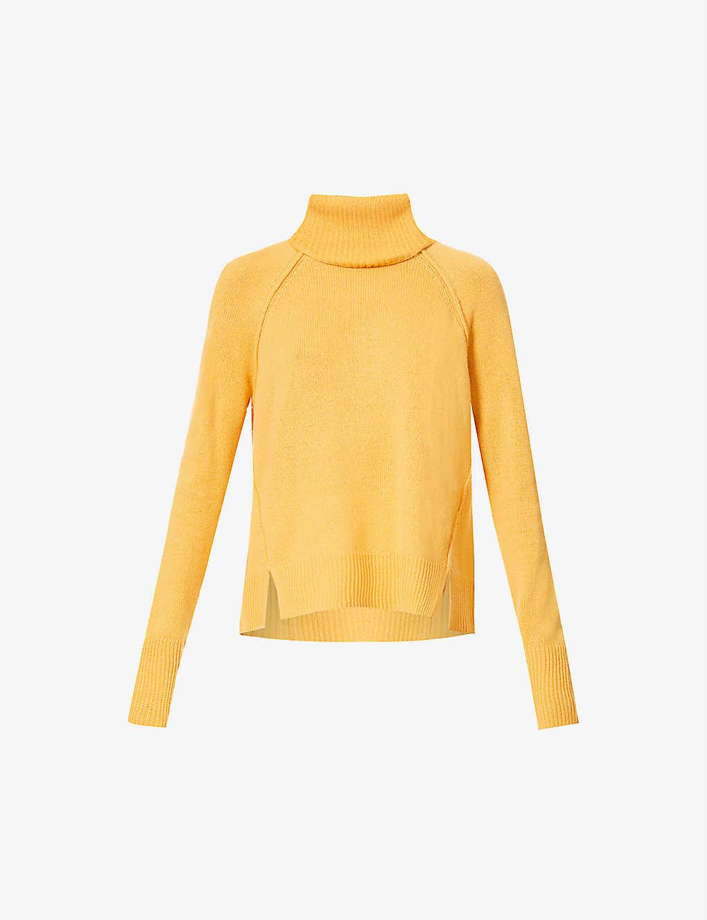 Detachable Snood Cashmere Knit