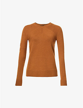 ME AND EM: Lofty cashmere crewneck jumper