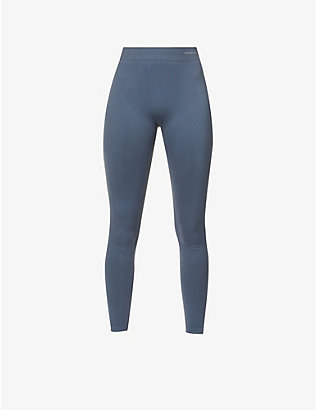 ORGANIC BASICS: SilverTech™ Active recycled nylon leggings