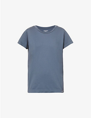 ORGANIC BASICS: Round-neck organic cotton T-shirt